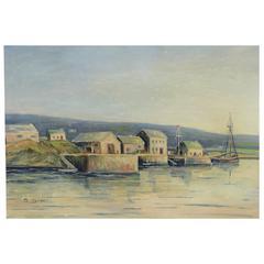 Northen Seascape Painting