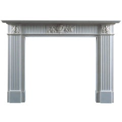 Jamb, Montague Reproduction Fireplace Statuary Marble