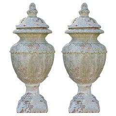 Italian Style Terracotta Urns