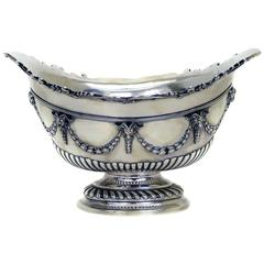 Victorian Sterling Centerpiece Bowl