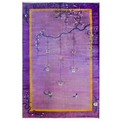 Incredible Monumental Chinese Art Deco Rug