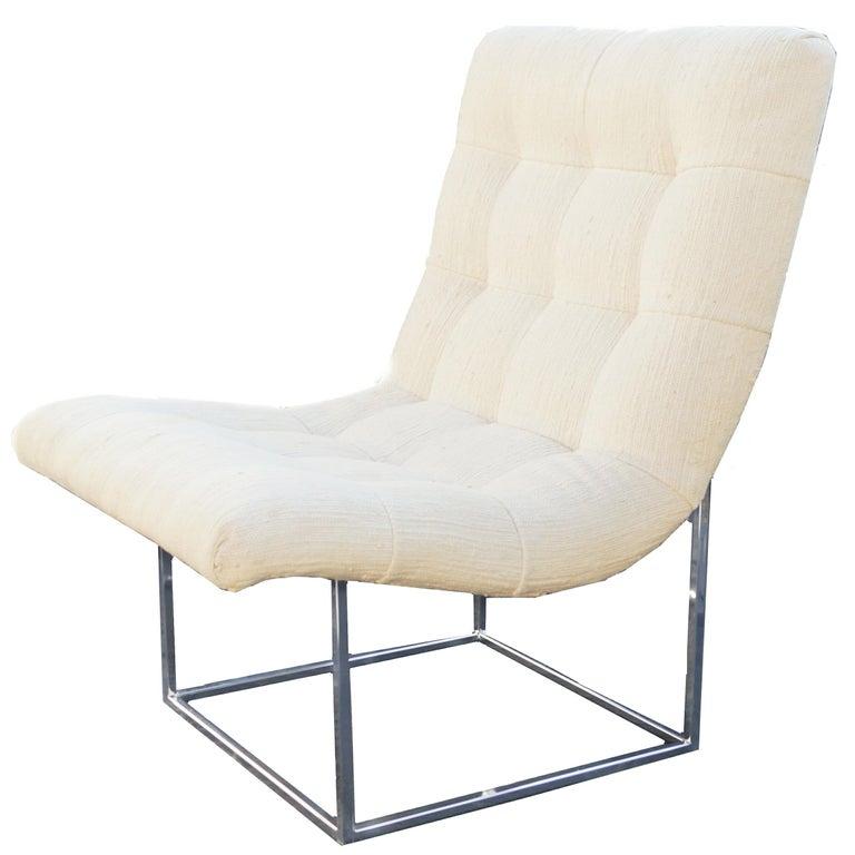 Milo Baughman Thayer Coggin Lounge Scoop Chair