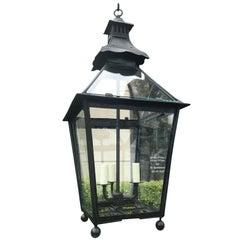 19th Century Large English Lantern