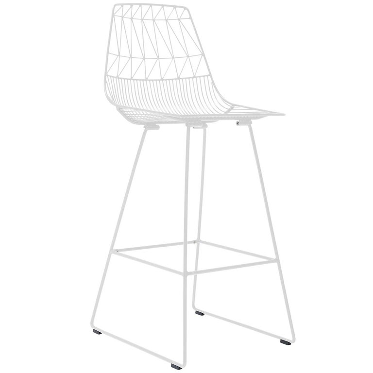 "Modern Wire ""Lucy"" Bar Stool by Bend Goods"