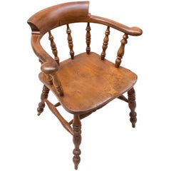 English Ashwood Captain Chair