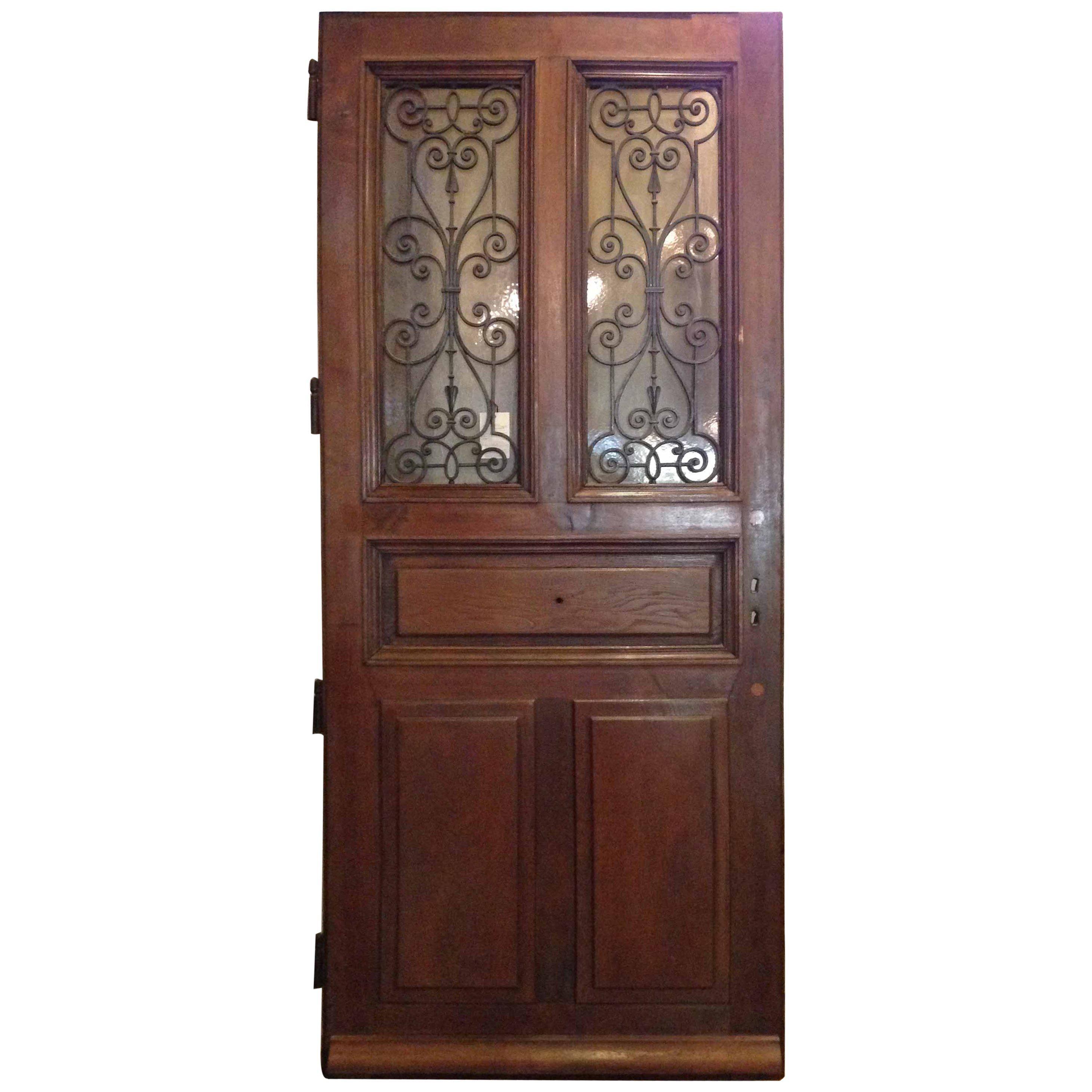 Superbe Antique French Door