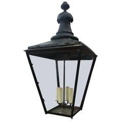 English Large Copper Lantern, Marked W. Parkinson & Company, circa 1860s