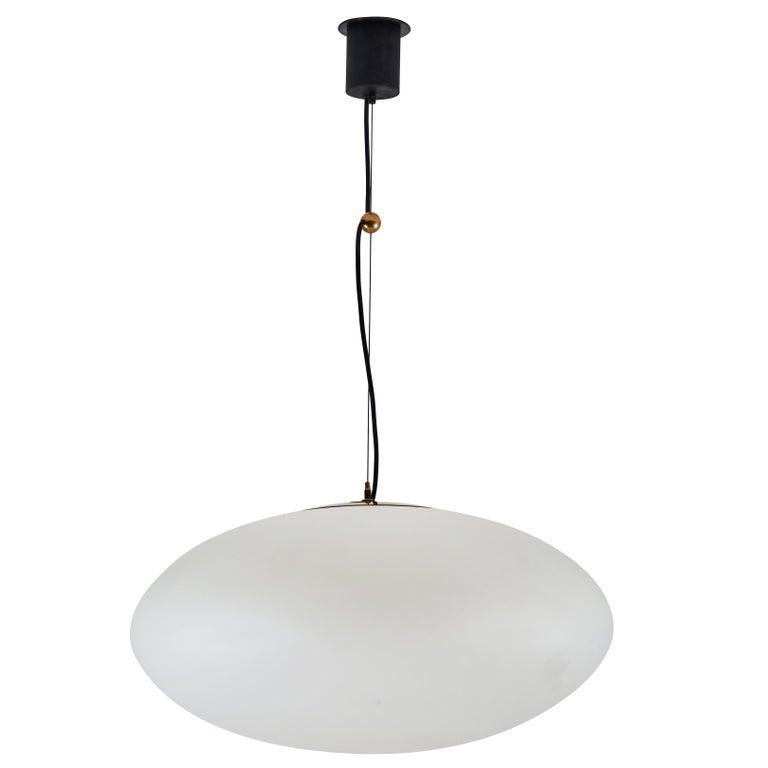 Rare Large Sized Suspension Light by Stilnovo