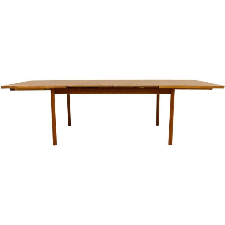 Teak Wood Extension Dining Table by France & Son, Denmark, circa 1960s