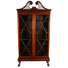Irish Chippendale Style Cabinet