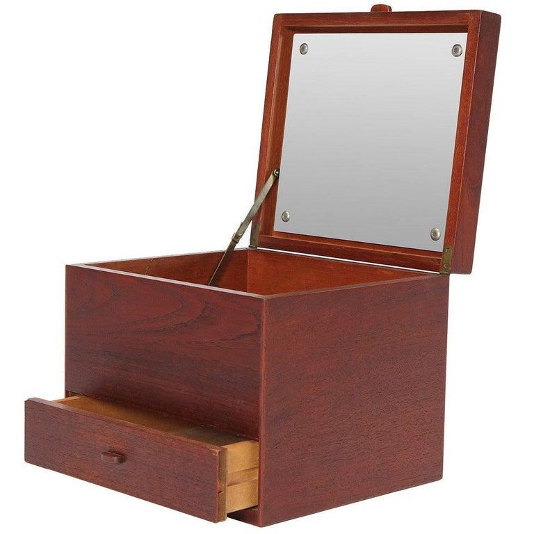 Teak Jewelry Box