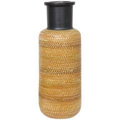 Large Bitossi Snakeskin Vase