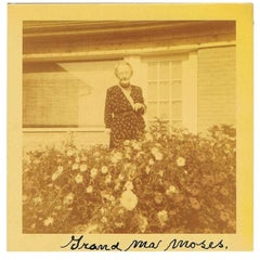 Grandma Moses Autographed Photograph