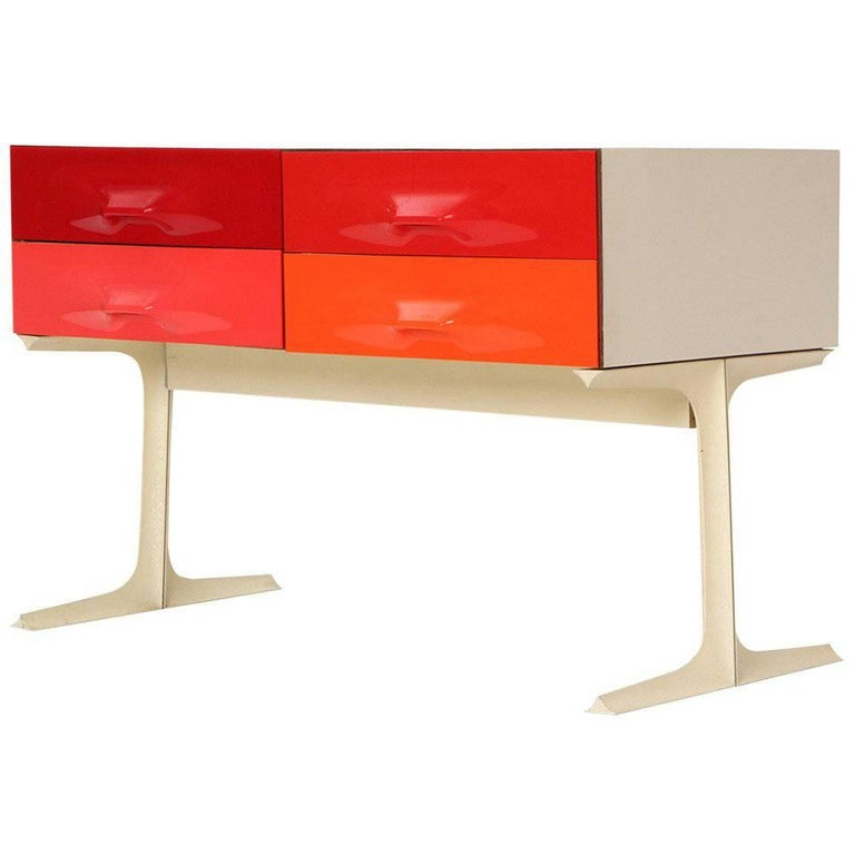 DF-2000 Chest of Drawers by Raymond Loewy