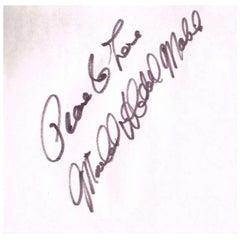 Michael X Autograph