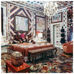 Gloria Vanderbilt Apartment, New York, 1970, Medium Color Photograph