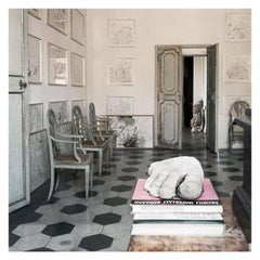Untitled #28, Cy Twombly in Rome, 1966, Medium Color Photograph
