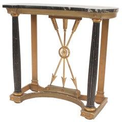 Italian Neoclassic Style Console Table
