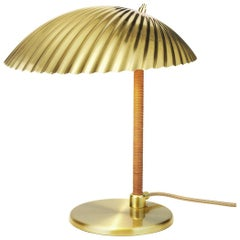Paavo Tynell Sea Shell Inspired 5321 Brass Shade Table Lamp