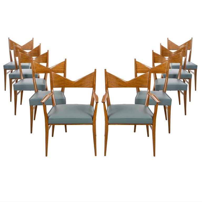 Paul McCobb Dining Chairs Set of Ten For Sale