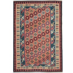 Vintage Kilim Rugs, Traditional Rugs, Persian Carpet from by Qashqai Tribe