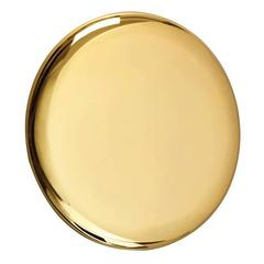 Michael Anastassiades Polished Brass Beauty Mirror