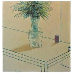"""James Strombotne painting """"China Case"""""""