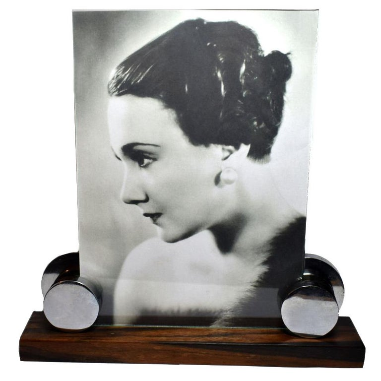 Large 1930s Modernist French Picture Frame