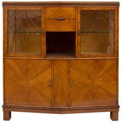 Art Deco Display Cabinet Bookcase