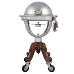 Christofle Silver Plate Meat Trolley