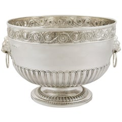 Antique Sterling Silver Presentation Bowl 1813