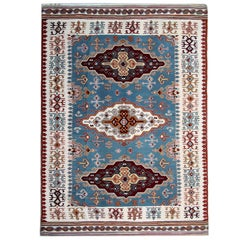 Antique Serbian Pirot, Kilim Rugs, Vintage Kilim Rugs, Geometric Traditional Rug