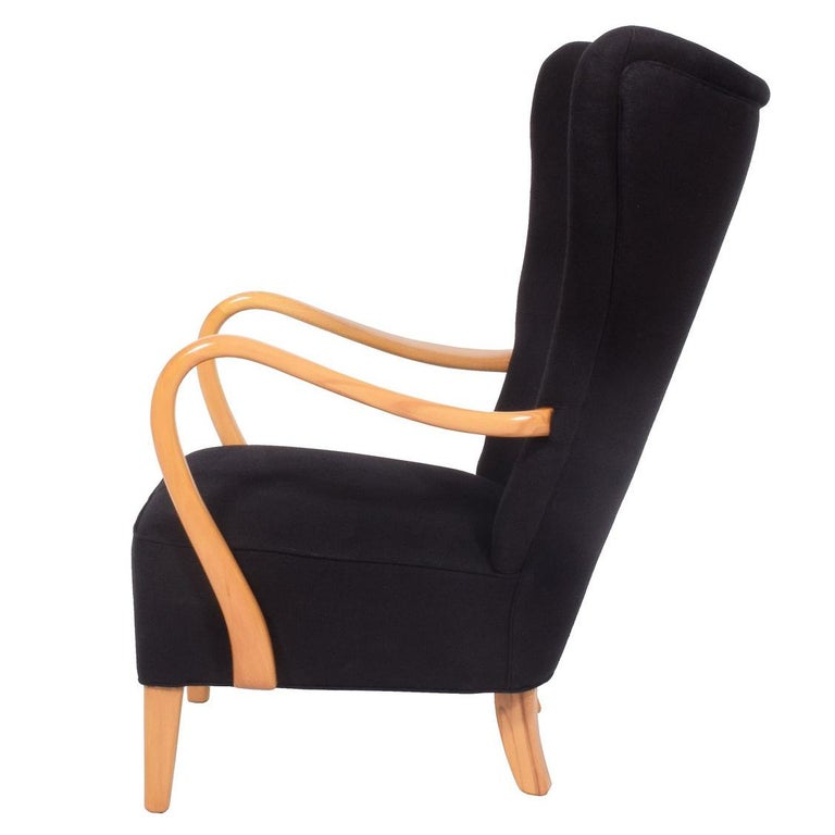 1940s Easy Chair by Elias Svedberg For Sale