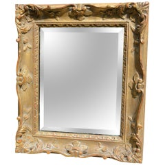 French Style Gold Framed Mirror