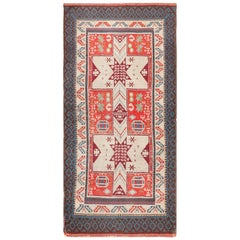 Small Size Antique Spanish Rug
