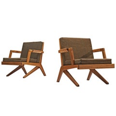 Finnish Pair of Armchairs by Olavi Hänninen