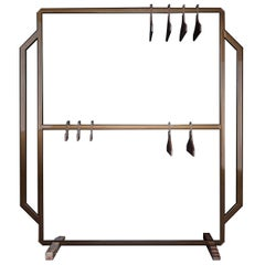 Mainframe Valet Stand in Brown