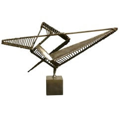 Alain Douillard Steel Sculpture