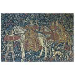 Beautiful Antique Wall Tapestry , Complimentary Shipping Worldwide
