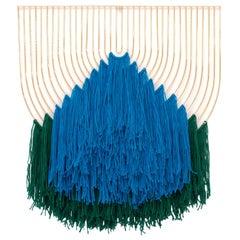 Modern Wire Macrame Art Piece by Bend Goods