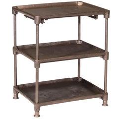 Three-Tier Cast Iron Table