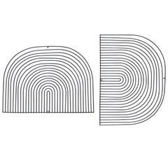 Modern Wire Art Piece by Bend Goods