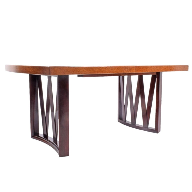 Paul Frankl Dining Table for Johnson Furniture Co. For Sale