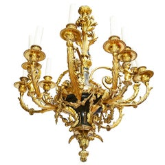 19th Century Classical Louis XVI Style Chandelier
