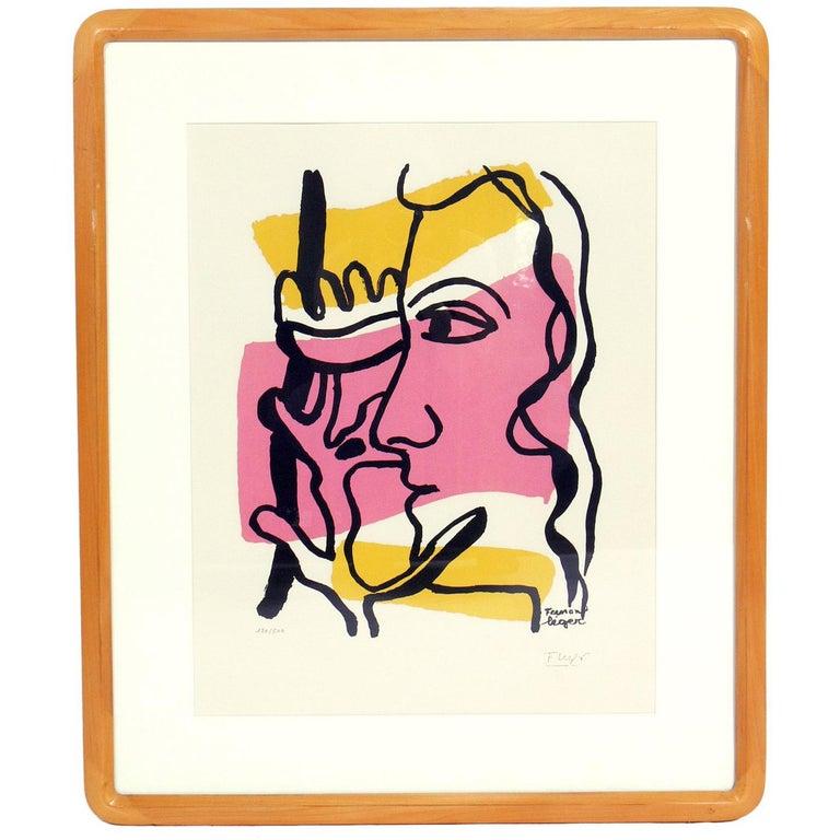 Fernand Léger Pochoir
