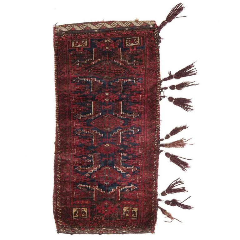 """Baluch """"Balisht"""" Tribal Bag Rug"""