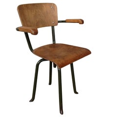 French 1930s Industrial Chair