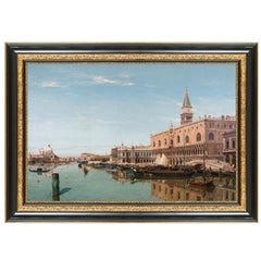 St. Mark's Plaza and the Doge's Palace, After Oil Painting by Grand Tour Artist