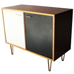 Sideboard Designed by Alfred Hendricks with Brass Details. Belgium, 1960