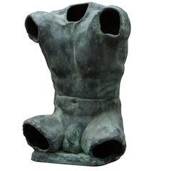Alan Torso Bronze Sculpture